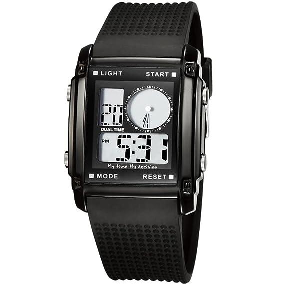 para Hombre Resistente al Agua Relojes natación Escalada Fashion Watches-g