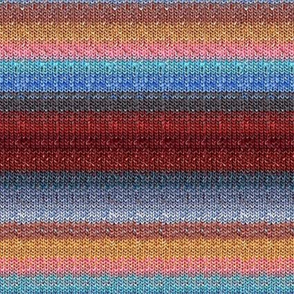 Image Unavailable. Image not available for. Color: Noro Silk Garden Sock ...