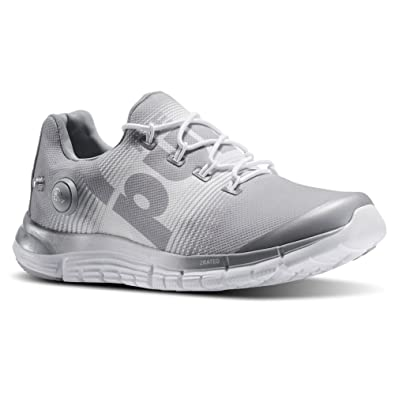 1375cf511 Reebok Zpump Fusion Womens Running Shoe 10.5 Grey-White
