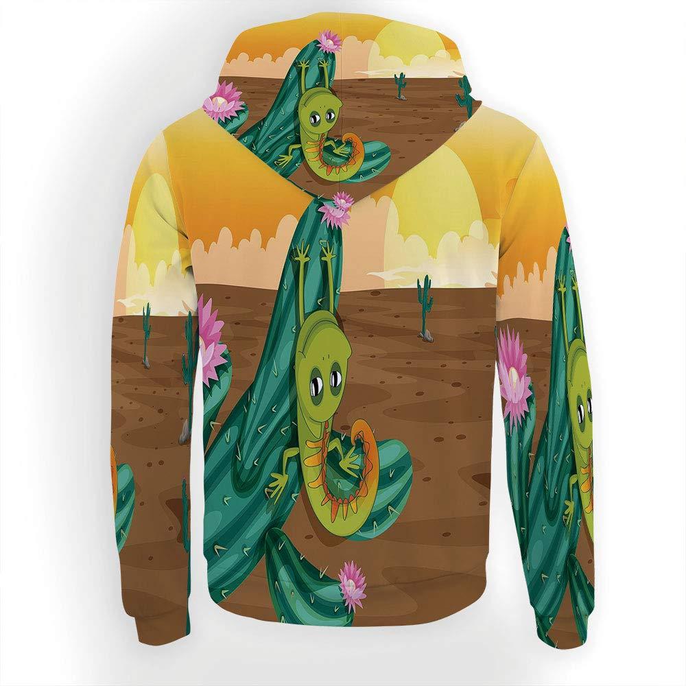 Style 21 iPrint Men's Hoodies Hoodies Hoodies Full Zipper Hooded Sweatshirt -Cabin Decor 0c7422
