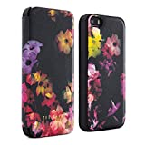 Ted Baker iPhone 5S Case, Official Ted Baker Women's SS15 Collection Case for Women Luxury Flip Cover for iPhone 5 5S - ALLI SS15 with Mirror - Proporta