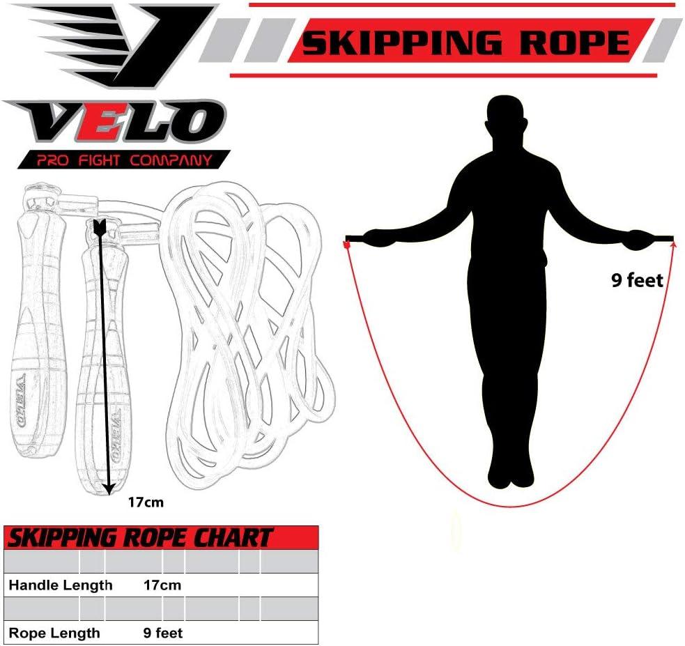 Gym entra/înement r/églable Boxe VELO Corde /à Sauter en Cuir Pro pour Exercices de Fitness