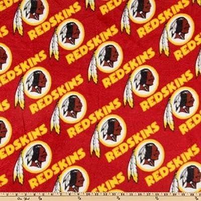 NFL Washington Redskin Fleece Fabric