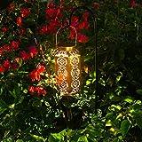 Solar Lantern Outdoor Solar Lights Metal Hanging