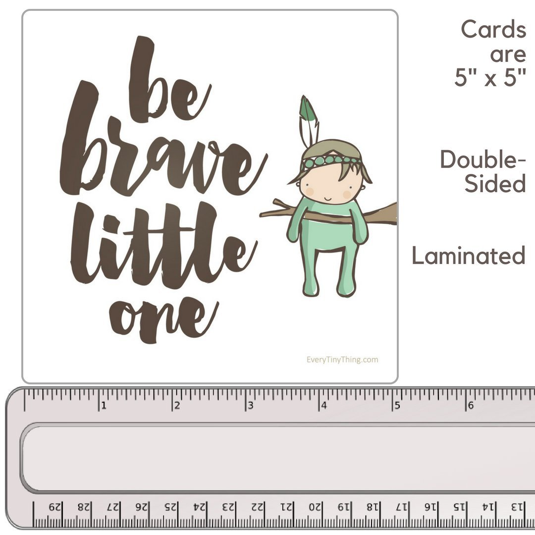 NICU Crib Art from Every Tiny Thing - Decorate Your Baby's NICU Space with Adorable Prints - Brave Boys by Every Tiny Thing (Image #6)