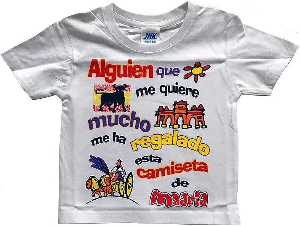 ZiNGS Camiseta Alguien Que me Quiere. Infantil: Amazon.es: Ropa y accesorios