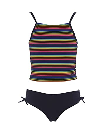 01391f2d8776 arena Mädchen Tankini Rainbow Youth, black, 116, 15669  Amazon.de ...