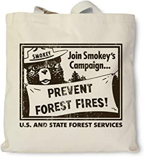 product image for Hank Player U.S.A. Smokey Bear/Join Smokey's Campaign Tote Bag