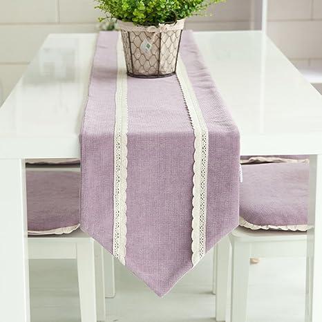 Ren&Yang Mesa Corredor Creativo Simple Estilo Moderno Mantel Mesa de café decoración de Tela Toalla de