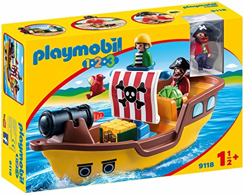 PLAYMOBIL® Pirate Ship Building Set