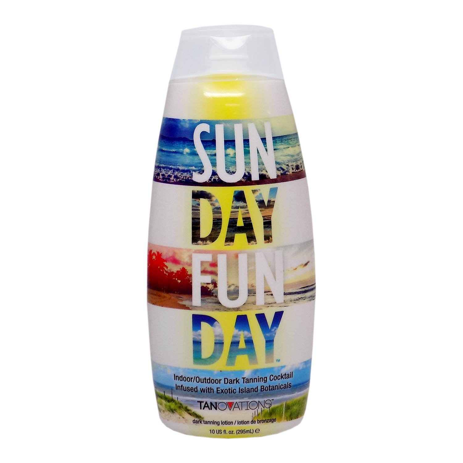 Tanovations SUN DAY FUN DAY Indoor/Outdoor Tanning Cocktail - 10 oz. Ed Hardy Tanning