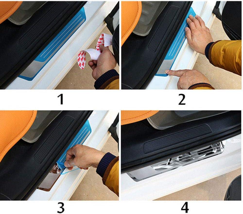 Acciaio Inossidabile Esterno Batticalcagno Prevenire LUsura Previene Graffi Protezione Accessori Decorativi 4 Pezzi Soglia Porta Battitacco Per Mitsubishi Outlander 2016-2020