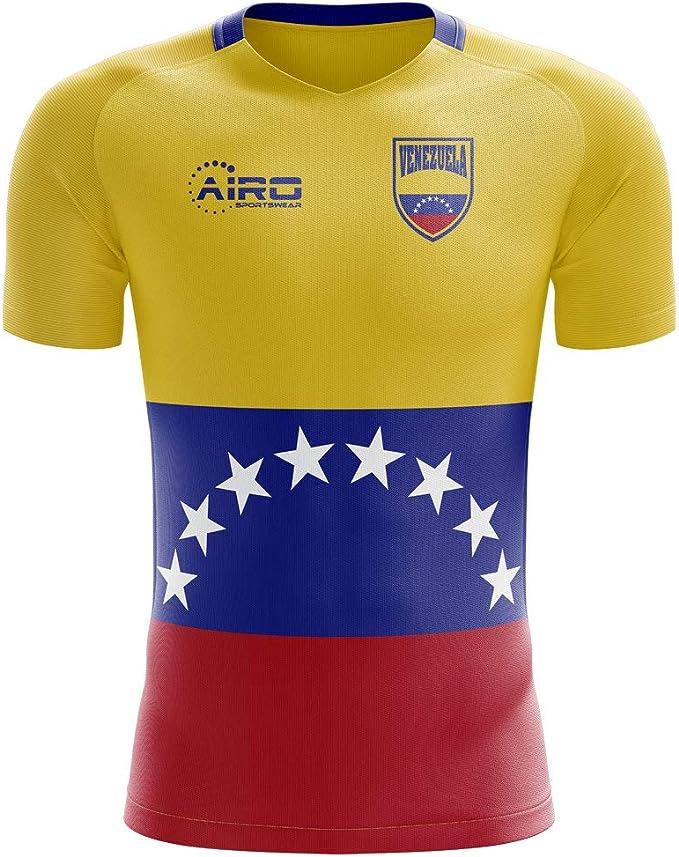 Airo Sportswear 2020-2021 Venezuela Home Concept Football Soccer T-Shirt Camiseta: Amazon.es: Deportes y aire libre