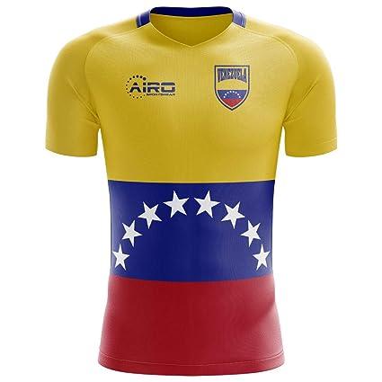 a72416b68 Amazon.com : Airo Sportswear 2018-2019 Venezuela Home Concept Football  Soccer T-Shirt Jersey : Clothing