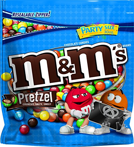 M&M's Pretzel Chocolate Bag, 30.00-Ounce