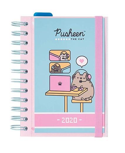ERIK – Agenda anual 2020 Pusheen The Cat, día página (11,4x16 cm)