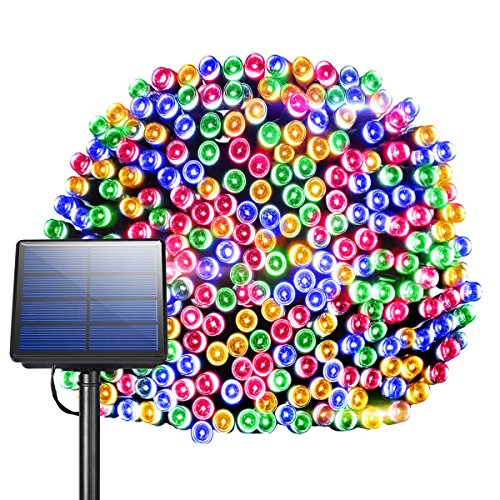 Bright Solar Christmas Lights