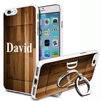 pretty nice 445b2 89162 Wooden Personalised Phone Case Cover & Ring Stand For Mobiles - 84 ...
