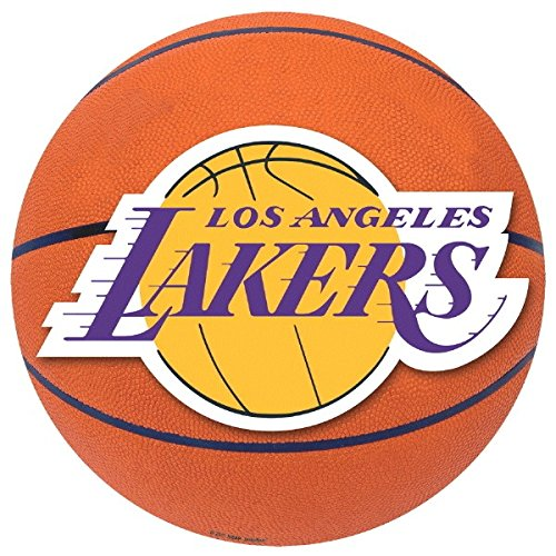 L A  Lakers NBA Party Cutouts Wall Decoration, Paper, (Lakers Party Decorations)