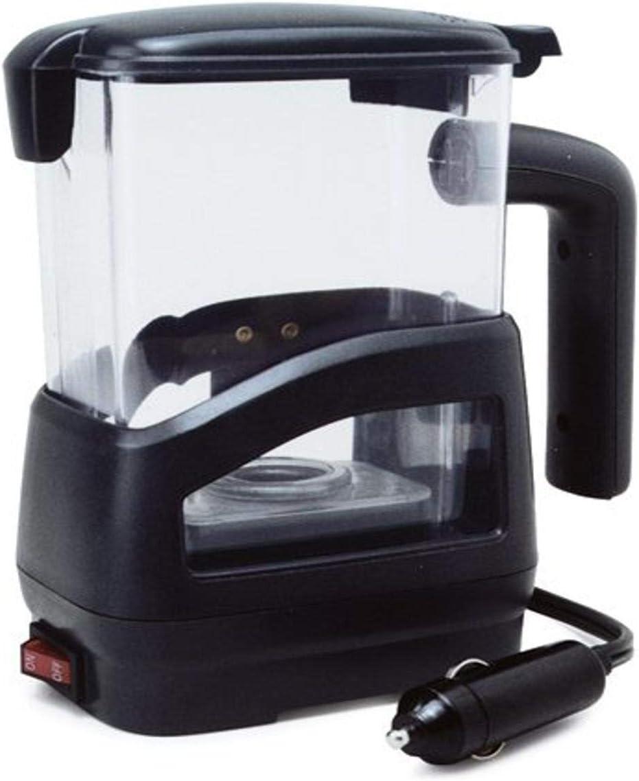 RoadPro 12-Volt 20oz. Smart Car Pot - Black - 5027S