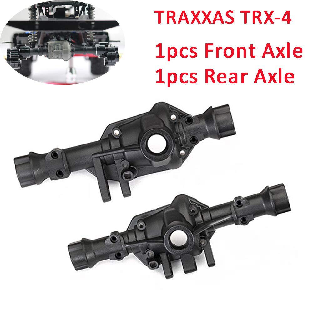 Ocamo TRAXXAS TRX4 Metal Front Axle Rear Axle for 1//10 RC Upgrade Metal Parts for Crawler Car