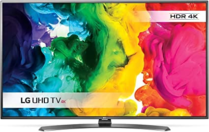 LG - Televisor Smart TV Ultra HD 4 K UH661V con webOS (Modelo de 2016): Amazon.es: Electrónica