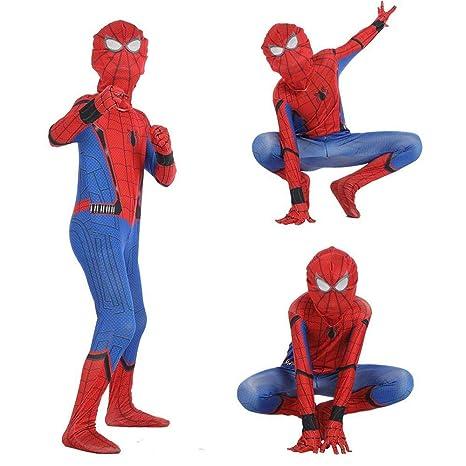 QAZ Mono Adulto del Traje De Halloween De Spider-Man para ...