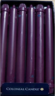 product image for Colonial Candle - Orchid Purple 8 Inch Classics