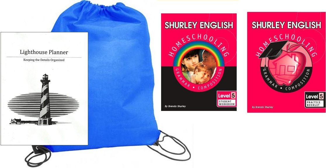 Read Online Shurley English Grade 5 Student and Practice homeschool kit in a bag pdf