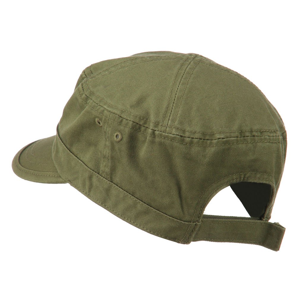 64138a2e8cf Sheriff Embroidered Enzyme Army Cap - Olive OSFM at Amazon Men s Clothing  store