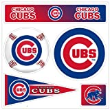 MLB Chicago Cubs 3D 5pc Multi-Magnets (1 Sheet)