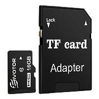EIVOTOR Micro SD Karte 8GB Speicherkarte bis zu 80 Mbit/Sek Memory Card SDHC Class10 Universal TF Flash Karte mit SD Adapter
