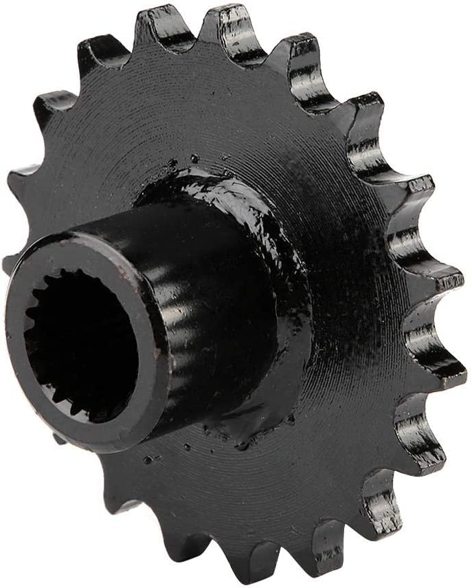 Suuonee Motorcycle Chain Sprockets 428 Chian 19 Tooth Front Output Sprocket Wheel for Gy6 150cc ATV Quad Gokart Taotao