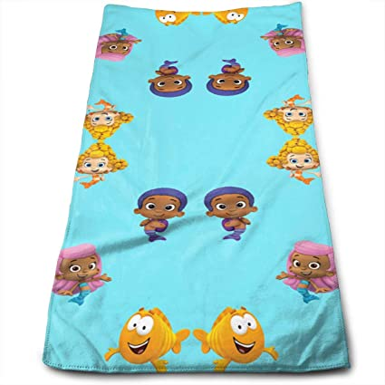 Bubble Guppies Bath Towels For Bathroom Hotel Spa Kitchen Set   Circlet