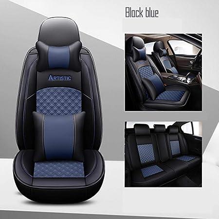 Luolong Car Seat Cover New Leather Universal Car Seat Covers For Bmw 1 Series E81 E82 E87 E88 F20 F21 F52 F40 2 Series F22 F23 F44 F45 F46 Car Seats Amazon De