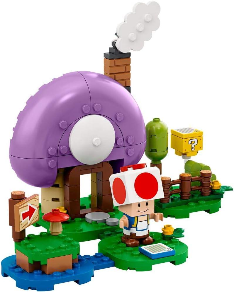 LEGO Super Mario Toads Special Hideaway Exclusive Set 77907
