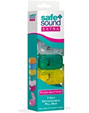 Safe & Sound Pop-Open 7 Day Pill Box