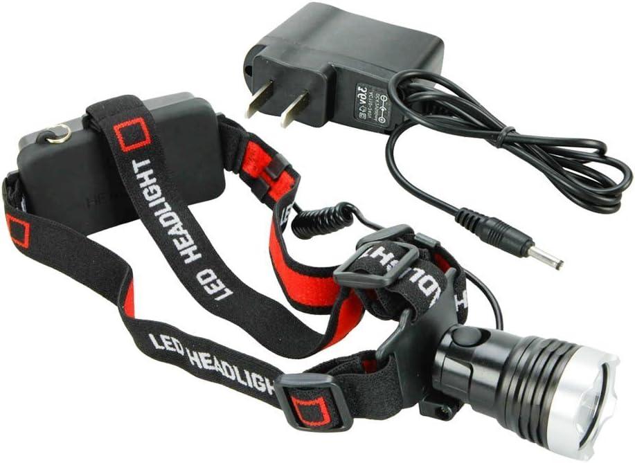 1800 Lumen Bright XML T6 LED Bike Light Headlamp Waterproof Bicycle Flashlight