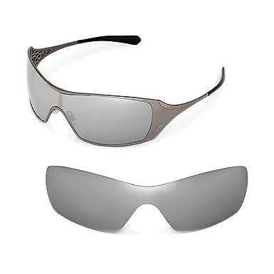 8dd5835310bd Walleva Replacement Lenses for Oakley Dart Sunglasses - Multiple Options  (Titanium Mirror Coated - Polarized