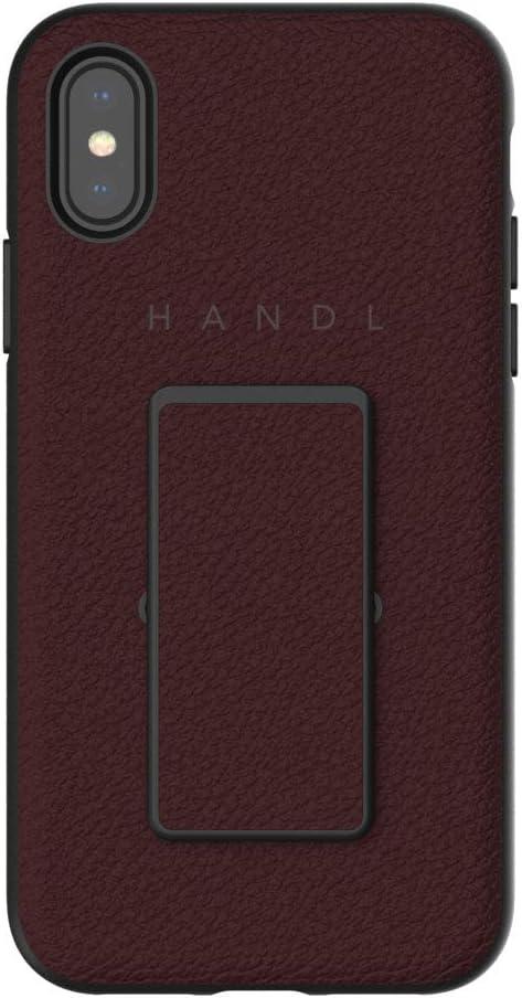 HANDL Inlay CASE for iPhone X/XS - Merlot Pebble