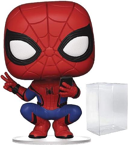 Funko Pop Marvel Spider-Man Far from Home Spider-Man Upgraded Suit Vinyl Figur