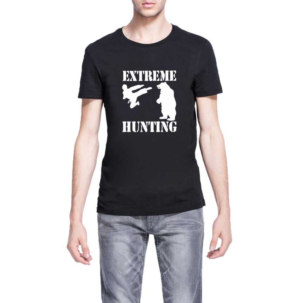 Loo Show S Extreme Hunting Funny Casual T Shirts Tee