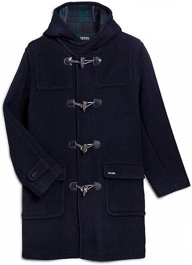 Duffle coat en laine pour homme Saint James