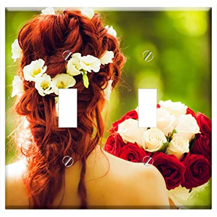 Amazon.com  Switch Plate Double Toggle - Instagram Cohesion Wedding Flowers  Hair Red Hair  Home Improvement d7d9475172d