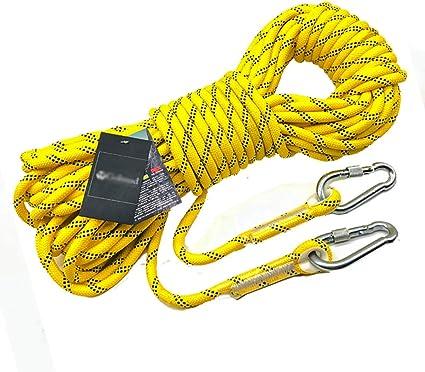 Rope Cuerda de Escalada Amarilla Exterior diámetro -8mm ...