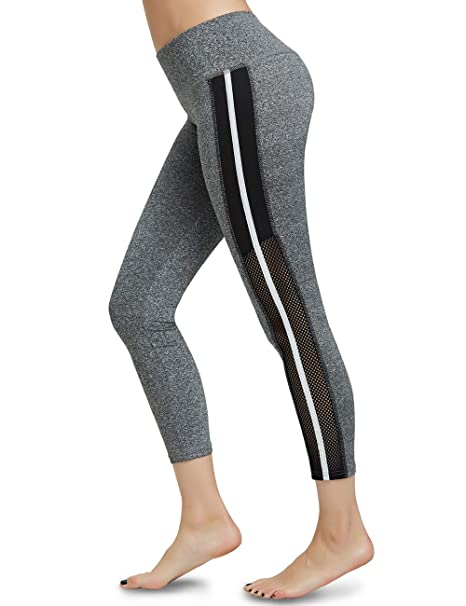 ODUDU Yoga Pants for Women Workout Running High Waist Tummy Control Yoga Leggings