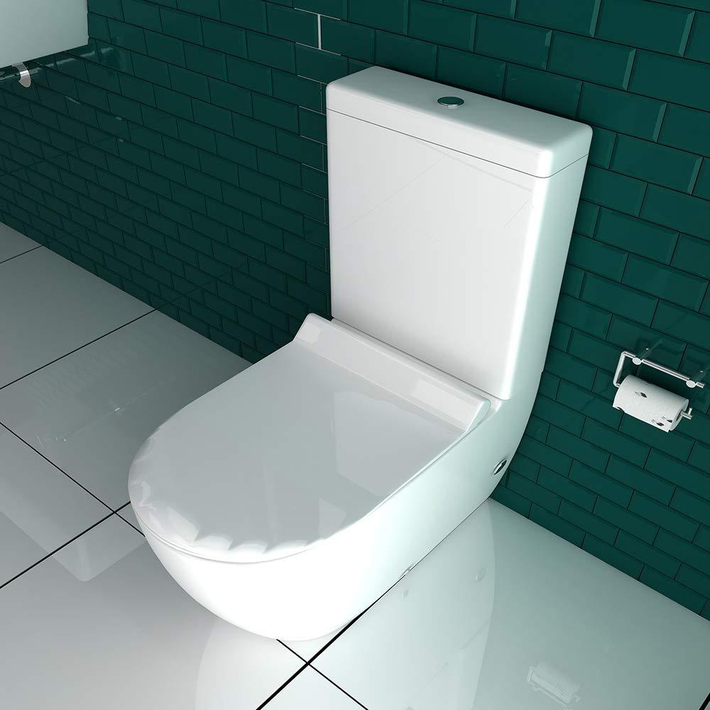 Landschap afbeelding Stand WC mit Spülkasten