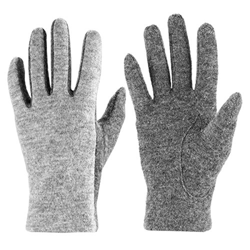 Embroidered Winter Gloves - 8