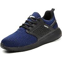 Zapatillas de Seguridad Hombres Hembra, Zapatos de Trabajo