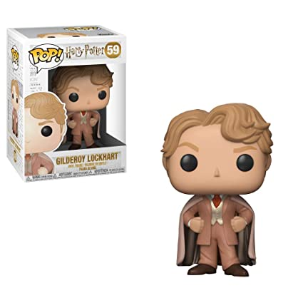 Funko Pop!- Pop Movies: Harry Potter-Gilderoy Lockhart Figura de Vinilo, (30031)